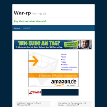 War-rp.de thumbnail