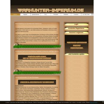 Warhunter-imperium.de thumbnail