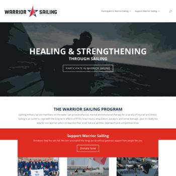 Warriorsailing.org thumbnail