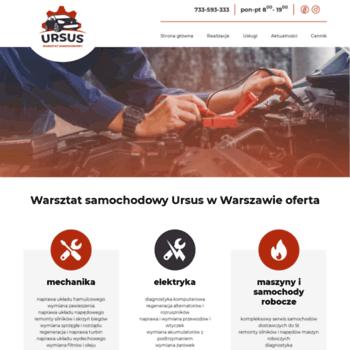 Warsztatursus.pl thumbnail