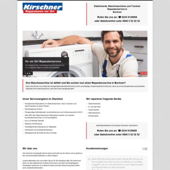 Waschmaschinenreparaturen-bochum.de thumbnail