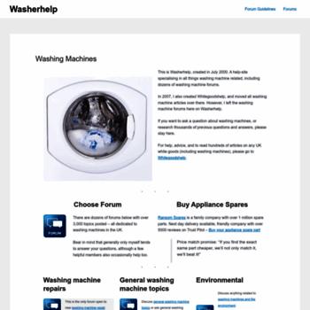 Washerhelp.co.uk thumbnail