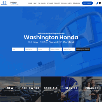 Washington Pa Car Dealerships >> Washingtonpahonda Com At Wi Largest Selection Of Honda