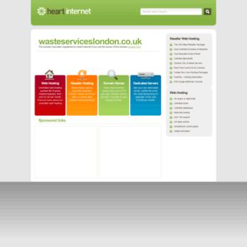 Wasteserviceslondon.co.uk thumbnail