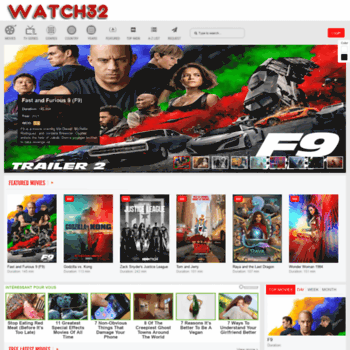 watch 32 is free movies