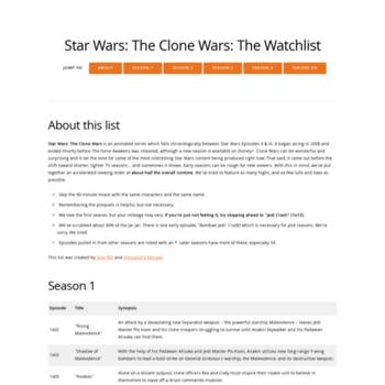 Watchlist.neocities.org thumbnail