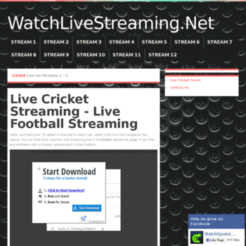 Watchlivestreaming.net thumbnail