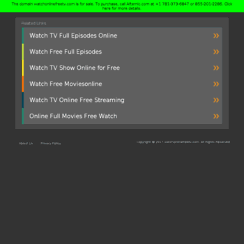Watchonlinefreetv.com thumbnail