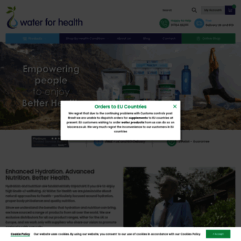 Water-for-health.co.uk thumbnail