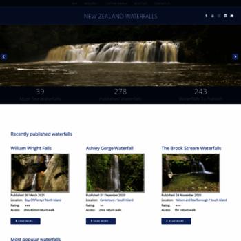 Waterfalls.co.nz thumbnail