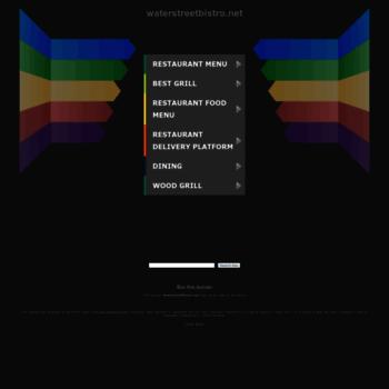 Waterstreetbistro.net thumbnail