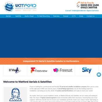 Watfordaerials.co.uk thumbnail