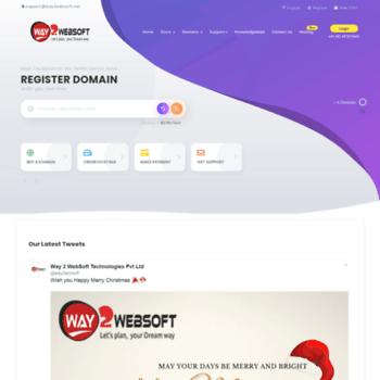 Way2websoft.net thumbnail