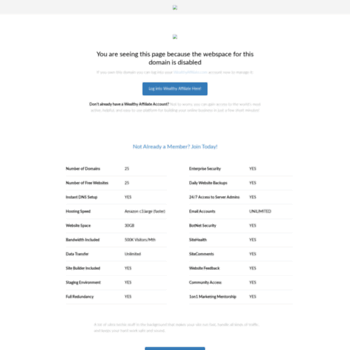 wealth4affiliates com at WI  Wealth 4 Affiliates | Know how