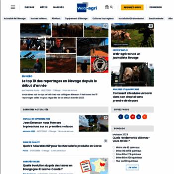 Web-agri.fr thumbnail