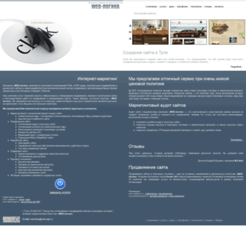 Веб сайт web-logic.ru