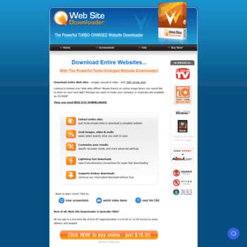 Web-site-downloader.com thumbnail