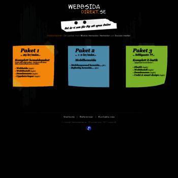 Webbsidadirekt.se thumbnail