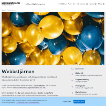 Webbstjarnan.se thumbnail