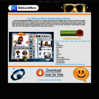 Webcameffects.net thumbnail