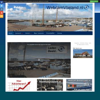 Webcamvlieland.nl thumbnail