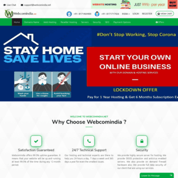 Webcomindia.net thumbnail