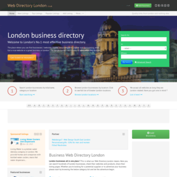 webdirectorylondon co uk at WI  Business Web Directory London