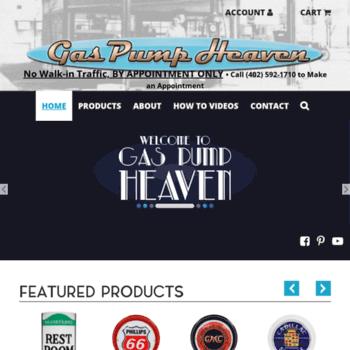 weberspump com at WI  Gas Pump Heaven