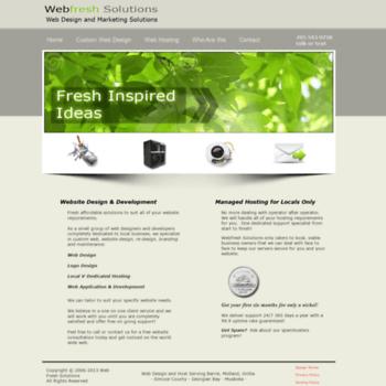 Webfreshsolutions.com thumbnail