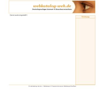 Webkatalog-web.de thumbnail