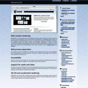 Webkitgtk.org thumbnail