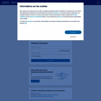 ionos webmailer