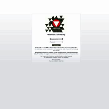 Webmail.bmlv.gv.at thumbnail