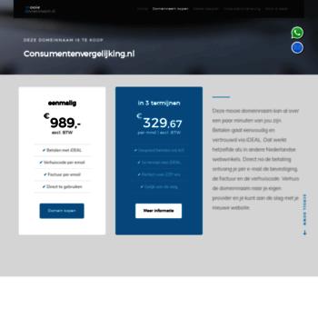 Webmail.consumentenvergelijking.nl thumbnail