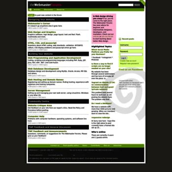 Webmaster-forums.net thumbnail