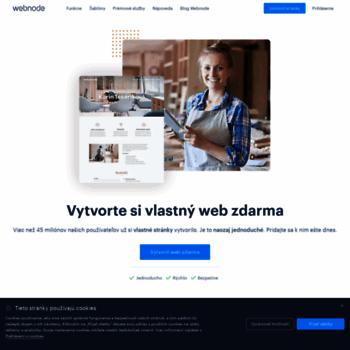 Webnode.sk thumbnail