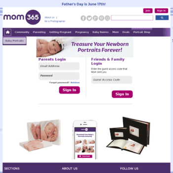 Webnursery At Wi View Your Baby Portraits Mom365