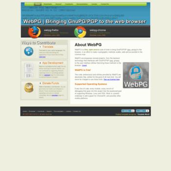 Webpg.org thumbnail