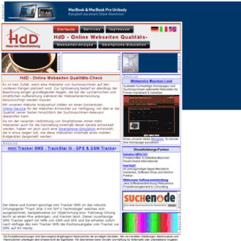Website-analyzer.de thumbnail