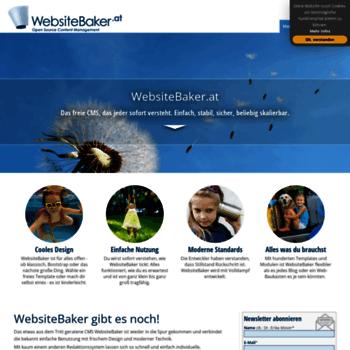 Websitebaker.at thumbnail