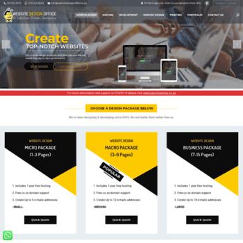 Websitedesignoffice.co.za thumbnail