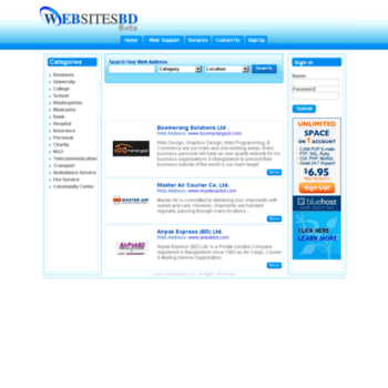 websitesbd com at WI  Yellow Pages Bangladesh | Websitesbd com | Web