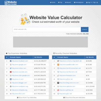 Websitevaluator.net thumbnail
