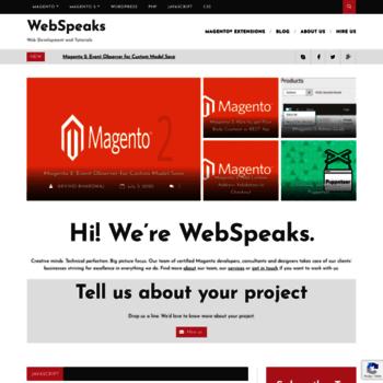 Webspeaks.in thumbnail