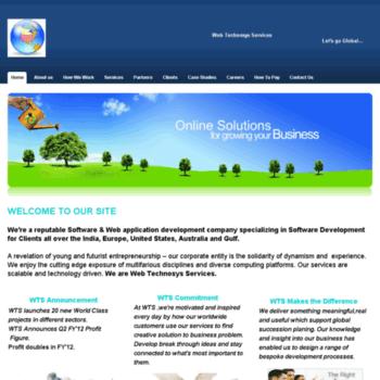Webtechnosys.net thumbnail