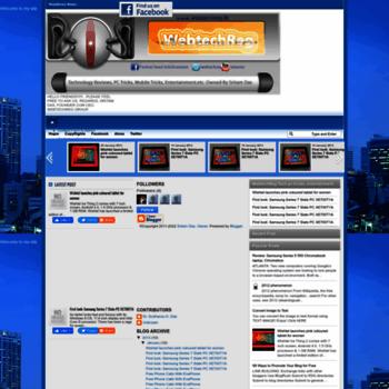 Webtechreg.blogspot.com thumbnail