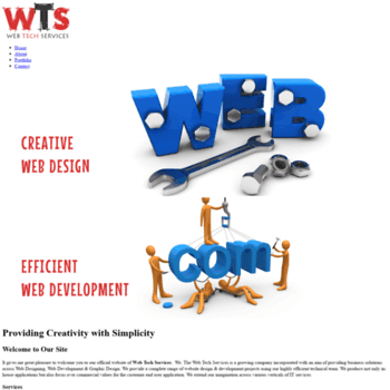 Webtechservices.in thumbnail