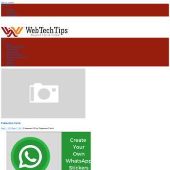 Webtechtips.net thumbnail