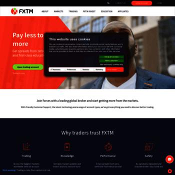 webtrader forextime com at WI  FXTM MT4 WebTrader