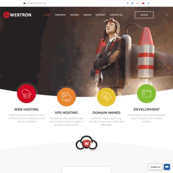 Webtron.co.za thumbnail